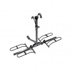 "Pro Series Q-Slot 2 Bike Rack Carrier Rear Hitch Mount 2 Inch or 1-1/4"" Rail Rack Platform Style Truck SUV Adult or Child"