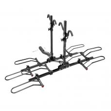 Pro Series Q-Slot 4 Bike Rack Carrier Rear Hitch Mount 2 Inch Rail Rack Platform Style Truck SUV Adult or Child