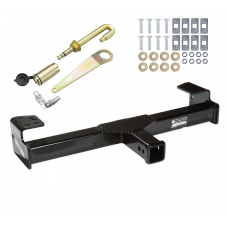 Front Mount Trailer Tow Hitch For 94-04 Chevy S10 GMC Sonoma Blazer Jimmy Bravada w/ J-Pin Anti-Rattle Lock