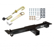 Front Mount Trailer Tow Hitch For 88-00 Chevy GMC C/K 1500 2500 3500 Suburban Yukon Tahoe w/ J-Pin Anti-Rattle Lock