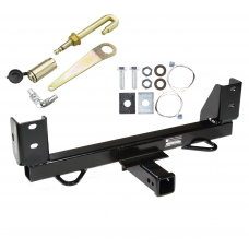 Front Mount Trailer Tow Hitch For 92-97 Ford F-250 F-350 4WD w/ J-Pin Anti-Rattle Lock