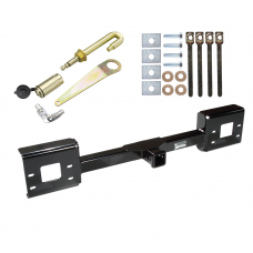 Front Mount Trailer Tow Hitch For 99-07 Ford F-250 F-350 F-450 F-550 Excursion w/ J-Pin Anti-Rattle Lock