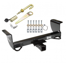 Front Mount Trailer Tow Hitch For 01-05 Ford Ranger Mazda B2300 B2500 B3000 B4000 w/ J-Pin Anti-Rattle Lock