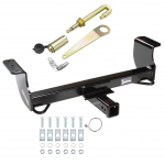 Front Mount Trailer Tow Hitch For 02-05 Dodge Ram 1500 w/ J-Pin Anti-Rattle Lock
