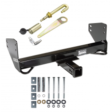 Front Mount Trailer Tow Hitch For 04-08 Ford F150 06-08 Lincoln Mark LT w/ J-Pin Anti-Rattle Lock