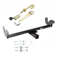 Front Mount Trailer Tow Hitch For 08-16 Ford F-250 F-350 F-450 F-550 w/ J-Pin Anti-Rattle Lock