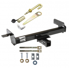 Front Mount Trailer Tow Hitch For 07-10 Chevy Silverado GMC Sierra 2500 3500 HD w/ J-Pin Anti-Rattle Lock