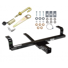 Front Mount Trailer Tow Hitch For 07-14 Chevy Silverado Sierra 1500 Suburban Avalanche Tahoe Yukon w/ J-Pin Anti-Rattle Lock