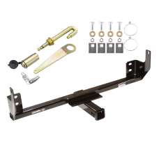 Front Mount Trailer Tow Hitch For 10 Dodge Ram 11-12 Ram 2500 4WD w/ J-Pin Anti-Rattle Lock