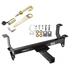 Front Mount Trailer Tow Hitch For 09-14 Dodge Ram 10-18 RAM 1500 w/ J-Pin Anti-Rattle Lock