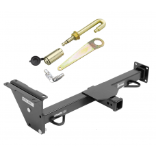 Front Mount Trailer Tow Hitch For Trailer Hitch For 09-15 Nissan Titan 4WD w/ J-Pin Anti-Rattle Lock