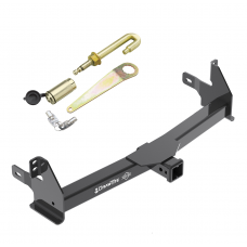 Front Mount Trailer Tow Hitch For 14-18 Toyota 4Runner Except Limited w/ J-Pin Anti-Rattle Lock
