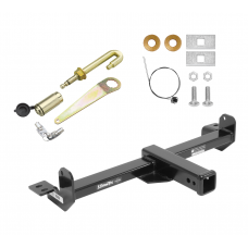 Front Mount Trailer Tow Hitch For 11-19 Chevy Silverado GMC Sierra 2500 3500 HD Except Denali w/ J-Pin Anti-Rattle Lock