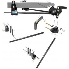 Reese STEAD-I FLEX 4K GTW Trailer Weight Distribution Hitch w/ Friction Anti Sway Control Bar Adjustable Shank Turnnion 400 lbs TW Load Leveling Travel Camper