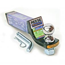 """Reese Interlock Class 3 Trailer Tow Starter Kit 2"""" Drop 3/4"""" Rise w/ 1-7/8 Inch Chrome Towing Ball 6,000 Lbs Fits 2"""" Hitch Opening"""