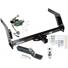 "Trailer Tow Hitch For 89-95 Toyota Pickup Complete Package w/ Wiring and 2"" Ball"