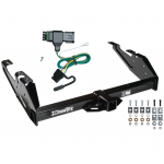 Trailer Tow Hitch For 88-00 Chevy GMC C/K Pickup w/ Wiring Harness Kit