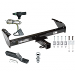 "Trailer Tow Hitch For 85-86 88-91 Chevy GMC C/K Pickup Complete Package w/ Wiring and 1-7/8"" Ball"