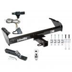 "Trailer Tow Hitch For 85-86 88-91 Chevy GMC C/K Pickup Complete Package w/ Wiring and 2"" Ball"