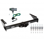 Trailer Tow Hitch For 92-00 Chevy GMC Yukon Suburban Tahoe Escalade w/ Wiring Harness Kit