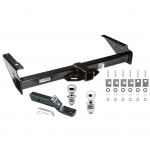"Trailer Tow Hitch For 92-00 Chevy GMC Yukon Suburban Tahoe Escalade Receiver w/ 1-7/8"" and 2"" Ball"