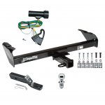 "Trailer Tow Hitch For 80-86 Ford Bronco F100/150/250/350 Complete Package w/ Wiring and 1-7/8"" Ball"