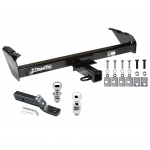 "Trailer Tow Hitch For 67-93 Dodge Pickup 97-04 Dakota 80-97 Ford F100/150/250/350 Receiver w/ 1-7/8"" and 2"" Ball"