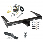 "Trailer Tow Hitch For 94-98 Jeep Grand Cherokee ZJ Complete Package w/ Wiring and 1-7/8"" Ball"