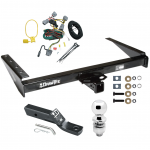 "Trailer Tow Hitch For 94-98 Jeep Grand Cherokee ZJ Complete Package w/ Wiring and 2"" Ball"