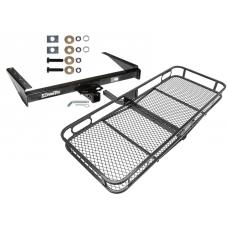 Trailer Tow Hitch For 93-98 Jeep Grand Cherokee ZJ Wagoneer Basket Cargo Carrier Platform w/ Hitch Pin