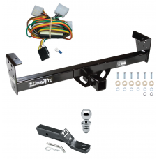 "Trailer Tow Hitch For 92-97 Isuzu Rodeo 94-97 Honda Passport Complete Package w/ Wiring and 1-7/8"" Ball"
