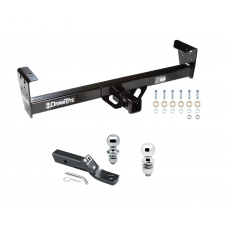 "Trailer Tow Hitch For 91-97 Isuzu Rodeo 94-97 Honda Passport Receiver w/ 1-7/8"" and 2"" Ball"
