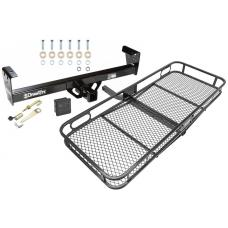 Trailer Tow Hitch For 91-97 Honda Passport Isuzu Rodeo Basket Cargo Carrier Platform Hitch Lock and Cover