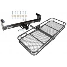 Trailer Tow Hitch For 91-97 Honda Passport Isuzu Rodeo Basket Cargo Carrier Platform w/ Hitch Pin