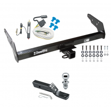 "Trailer Tow Hitch For 83-84 Chevy GMC S10 S15 w/Step Bumper Complete Package w/ Wiring and 1-7/8"" Ball"