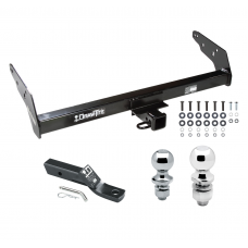 Trailer Tow Hitch For 83-97 Chevy S10 83-90 GMC S15 96-97 Isuzu Hombre w/Standard Bed and Step Bumper