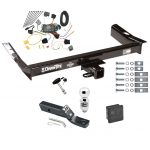 """Trailer Tow Hitch For 2003 Ford Windstar (Built After 11/2002) Deluxe Package Wiring 2"""" Ball and Lock"""