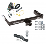 "Trailer Tow Hitch For 99-03 Ford Windstar (Built Before 11/2002) Complete Package w/ Wiring and 1-7/8"" Ball"