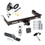 "Trailer Tow Hitch For 99-03 Ford Windstar (Built Before 11/2002) Deluxe Package Wiring 2"" Ball and Lock"