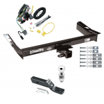 "Trailer Tow Hitch For 99-03 Ford Windstar (Built Before 11/2002) Complete Package w/ Wiring and 2"" Ball"