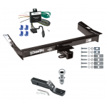 "Trailer Tow Hitch For 95-98 Ford Windstar Complete Package w/ Wiring and 1-7/8"" Ball"