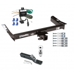 "Trailer Tow Hitch For 95-98 Ford Windstar Complete Package w/ Wiring and 2"" Ball"