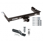 "Trailer Tow Hitch For 95-03 Ford Windstar Receiver w/ 1-7/8"" and 2"" Ball"
