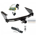 "Trailer Tow Hitch For 97-04 Ford F150 SuperCrew Flareside Complete Package w/ Wiring and 2"" Ball"