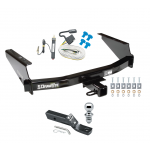 "Trailer Tow Hitch For 97-04 F150 Heritage Styleside 97-99 F250 Complete Package w/ Wiring and 1-7/8"" Ball"