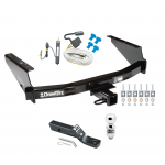 "Trailer Tow Hitch For 97-04 F150 Heritage Styleside 97-99 F250 Complete Package w/ Wiring and 2"" Ball"