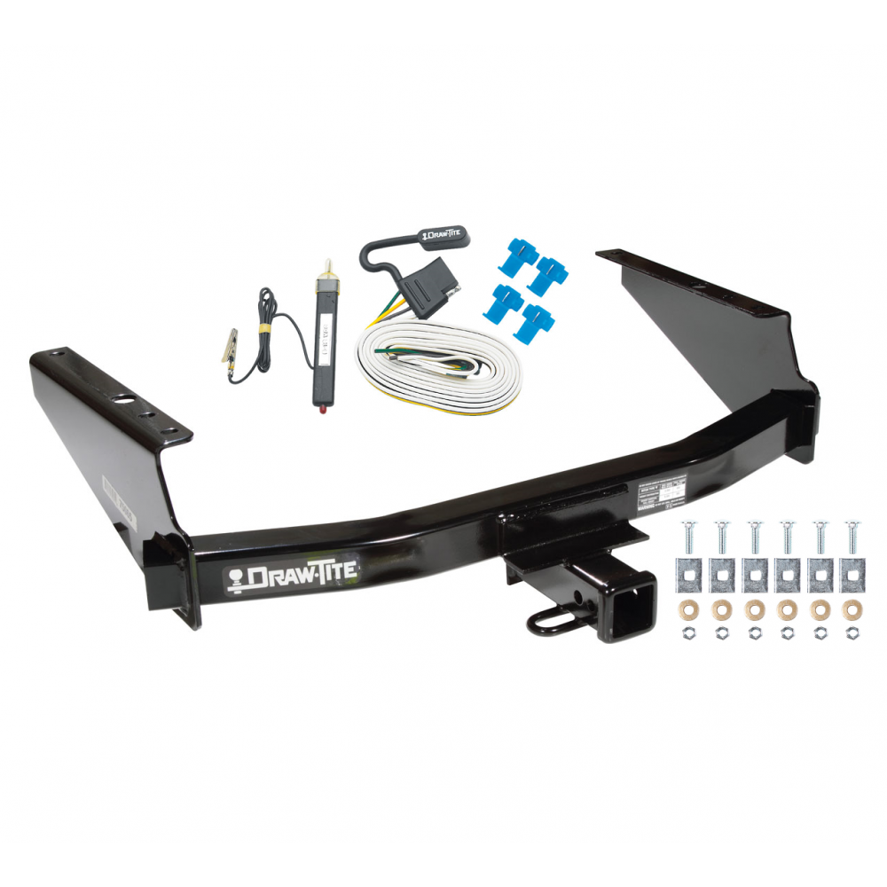 trailer tow hitch for 97-04 f150 heritage styleside 97-99 f250 w/ wiring  harness kit