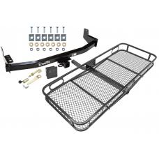 Trailer Tow Hitch For 97-02 Ford Expedition Lincoln Navigator Basket Cargo Carrier Platform Hitch Lock and Cover