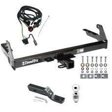 """Trailer Tow Hitch For 2004 Dodge Dakota Complete Package w/ Wiring and 2"""" Ball"""