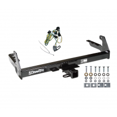 Trailer Tow Hitch For 95-03 Dodge Dakota w/ Wiring Harness Kit